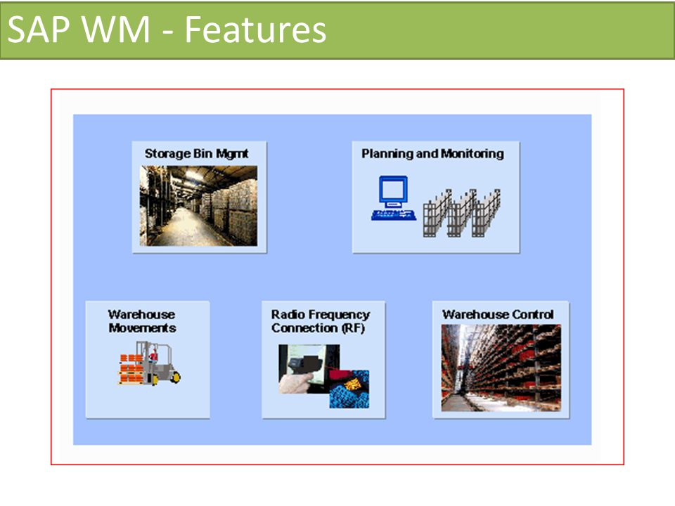 SAP WM - Features