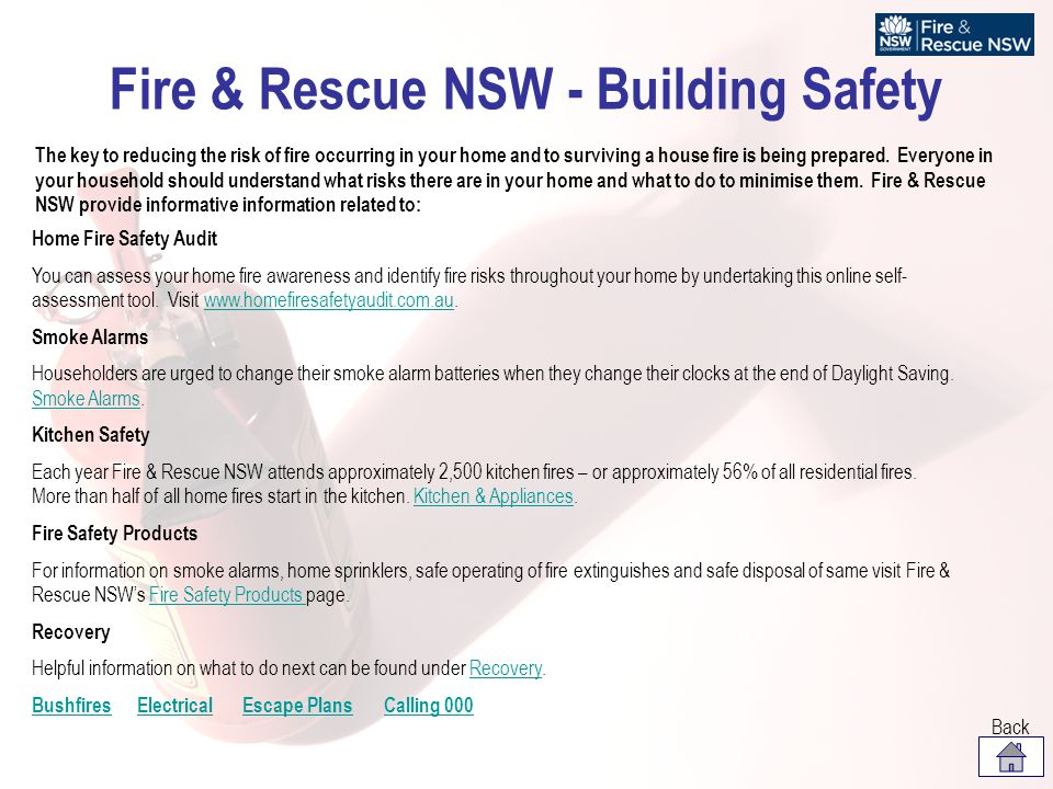 Fire & Rescue NSW - Building Safety