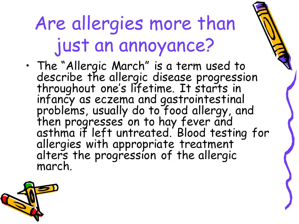 Are allergies more than just an annoyance