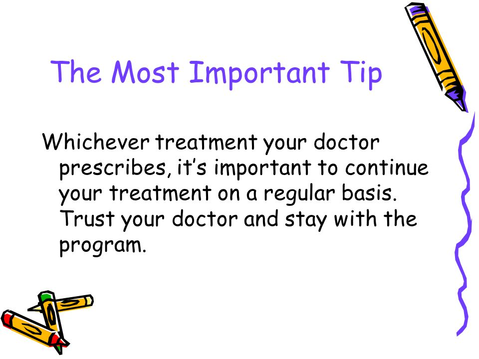 The Most Important Tip