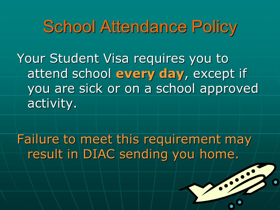 School Attendance Policy