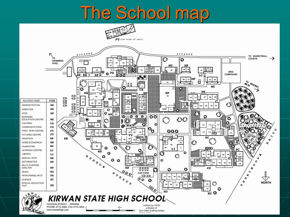 The School map
