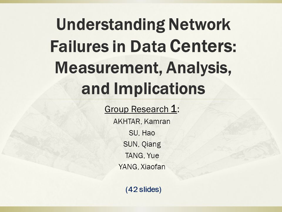 Understanding Network Failures in Data Centers: Measurement, Analysis, and Implications