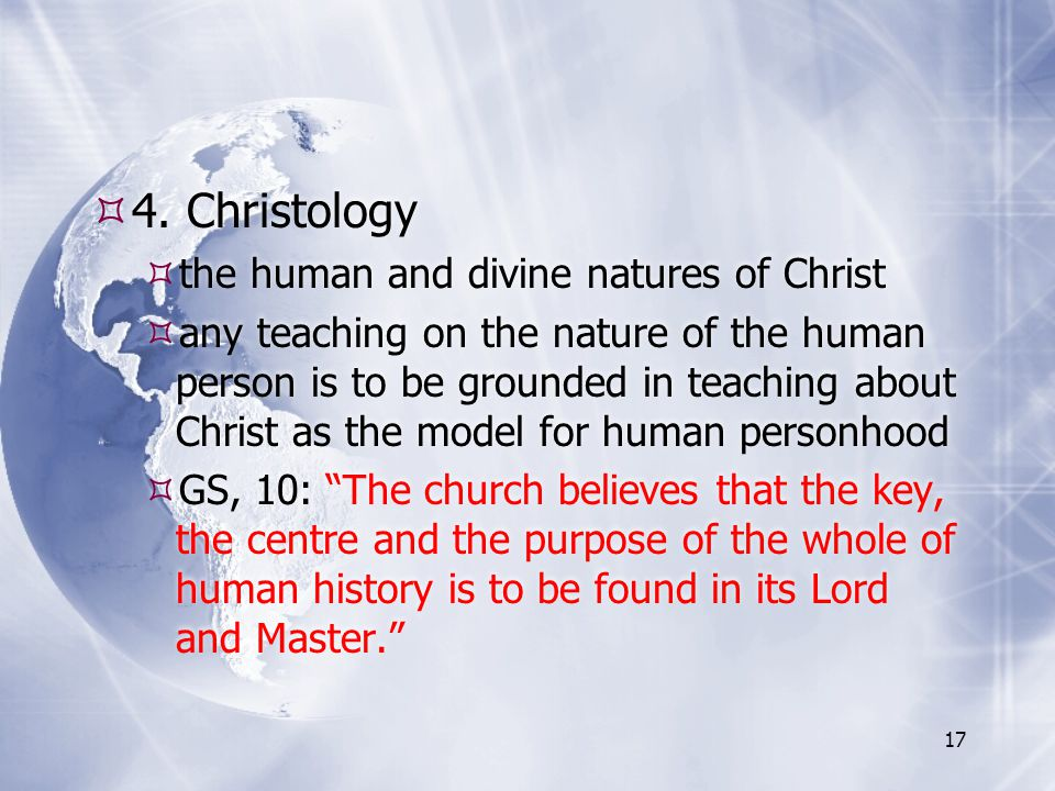 4. Christology the human and divine natures of Christ