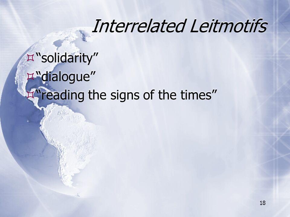 Interrelated Leitmotifs