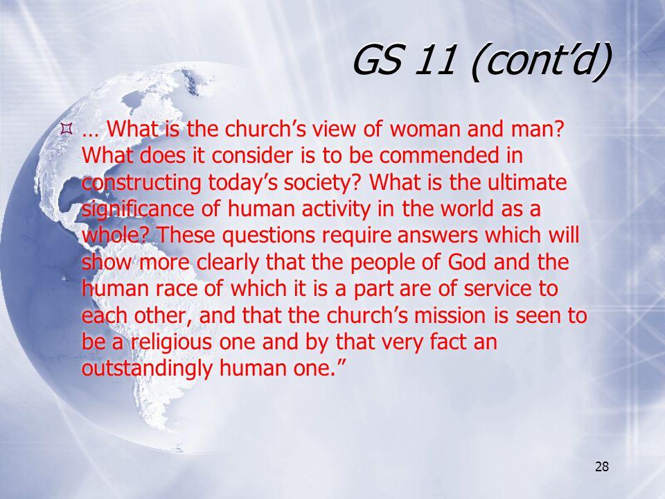 GS 11 (cont'd)