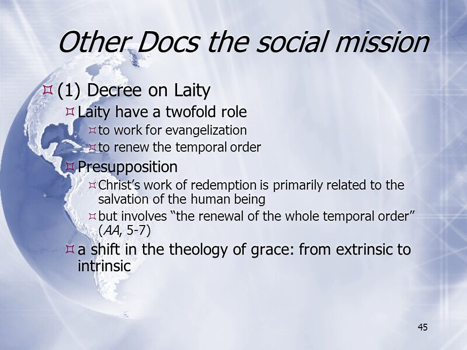 Other Docs the social mission