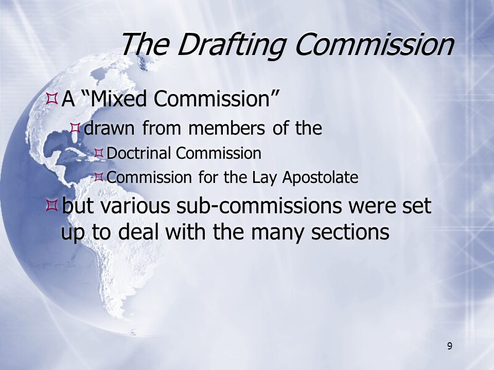 The Drafting Commission