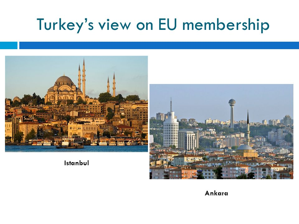 Turkey's view on EU membership