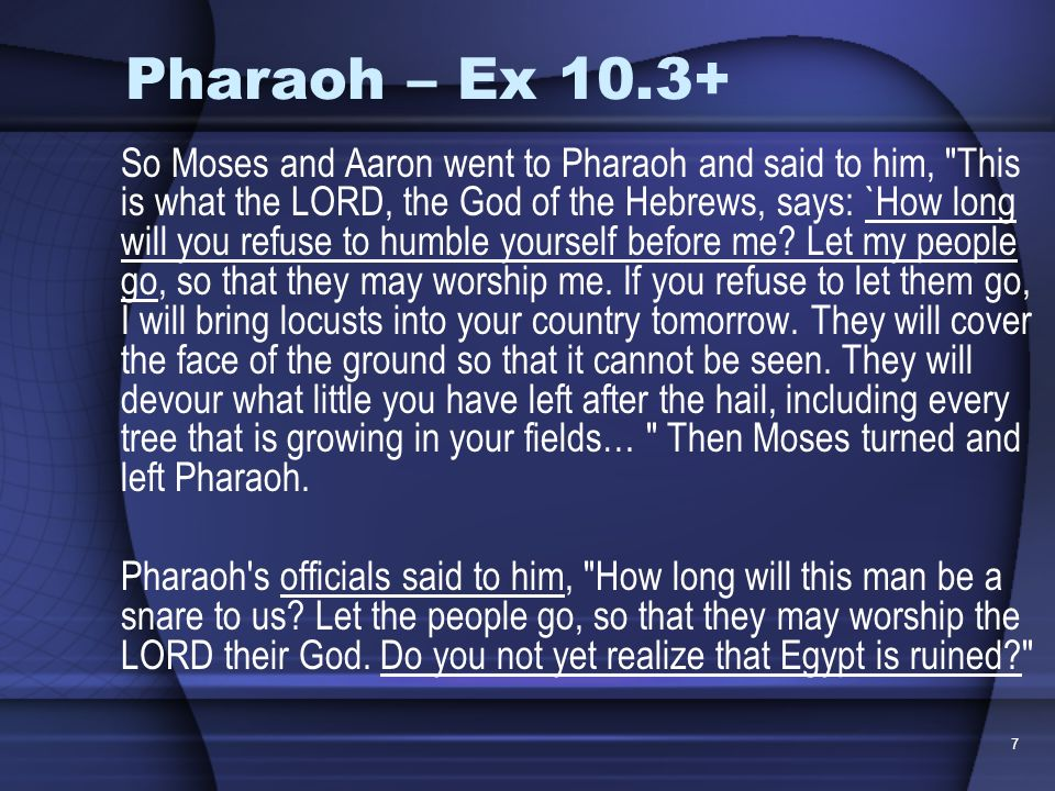 Pharaoh – Ex 10.3+
