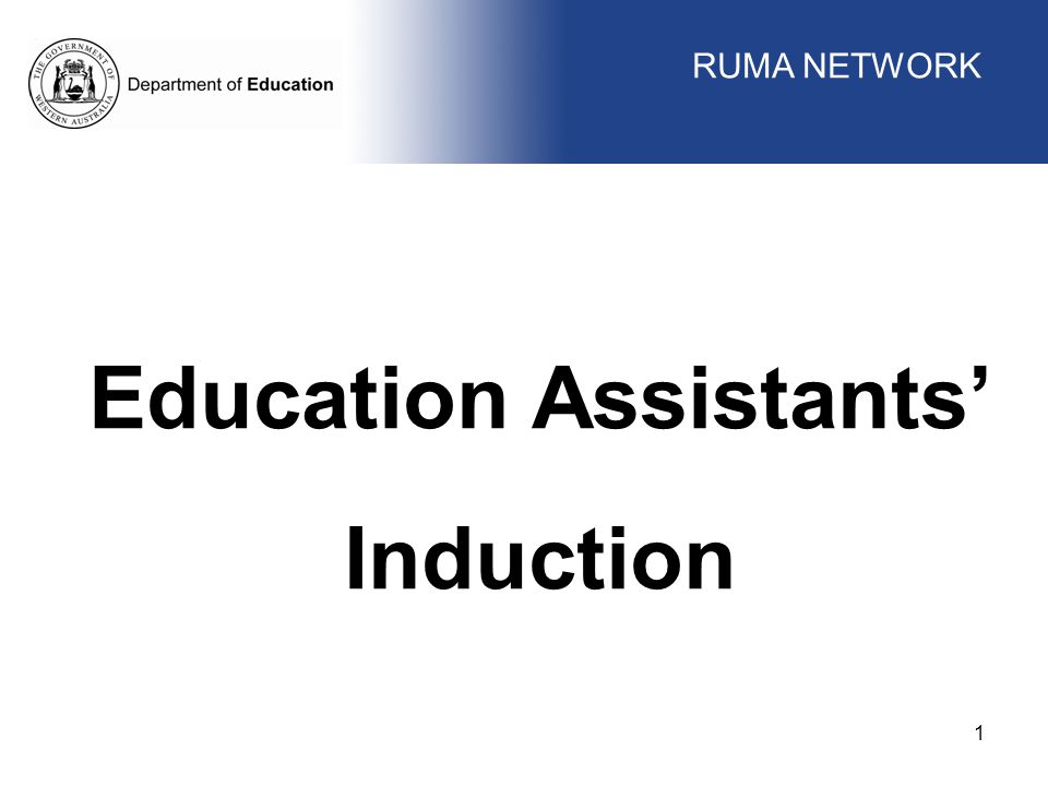 Education Assistants'