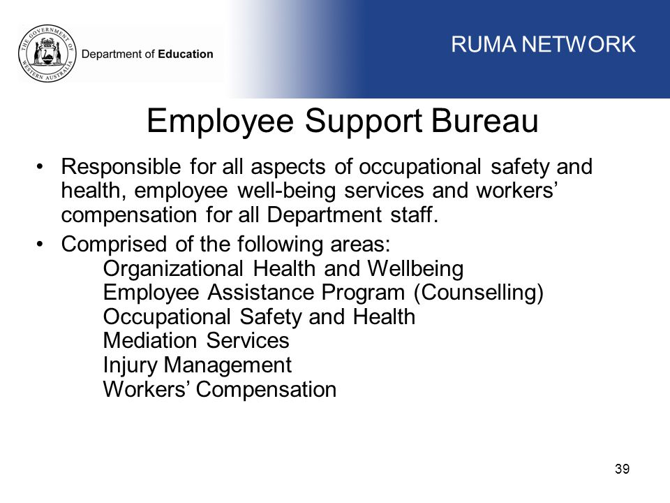 Employee Support Bureau