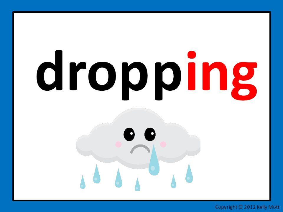 drop p ing Copyright © 2012 Kelly Mott