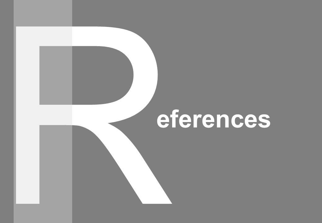 R eferences