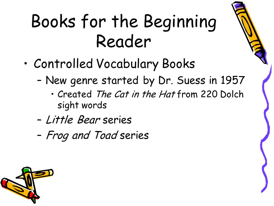 Books for the Beginning Reader