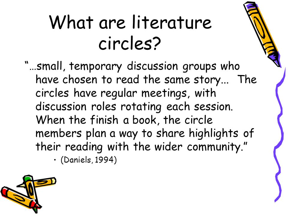 What are literature circles