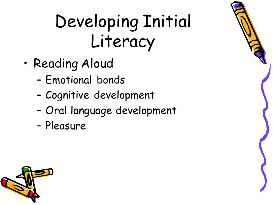 Developing Initial Literacy