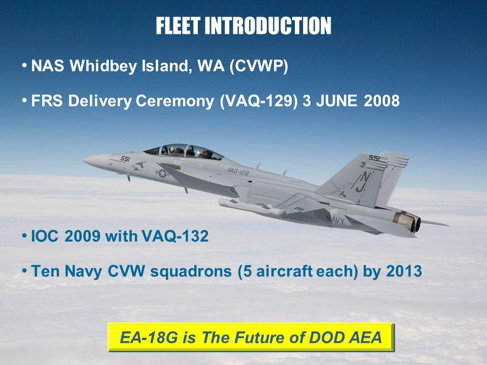 EA-18G is The Future of DOD AEA