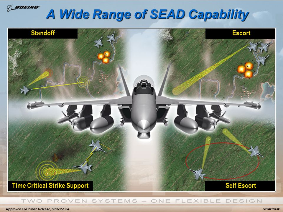 A Wide Range of SEAD Capability