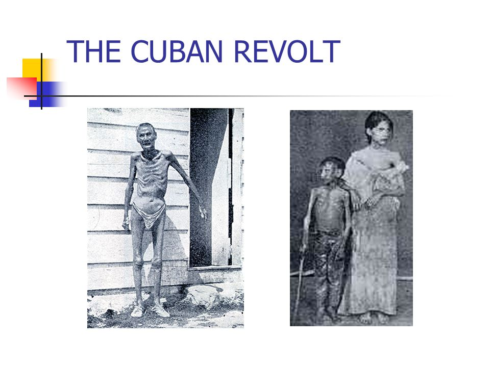 THE CUBAN REVOLT