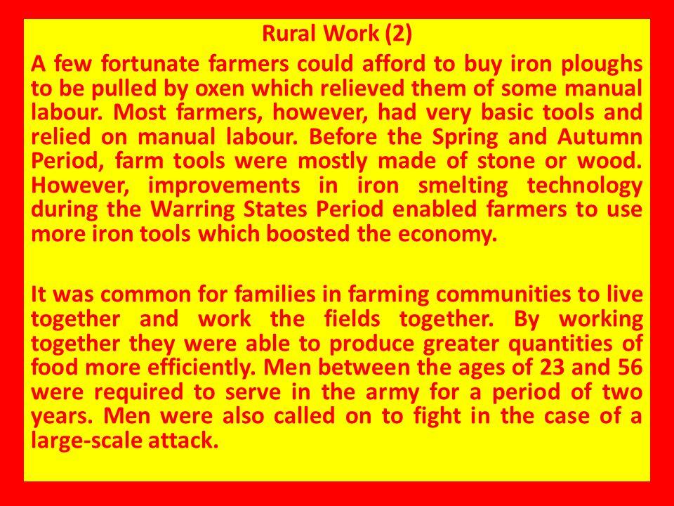 Rural Work (2)