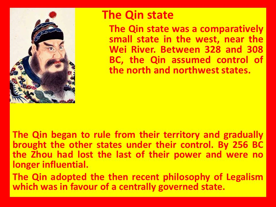 The Qin state