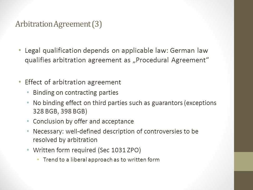 Arbitration Agreement (3)