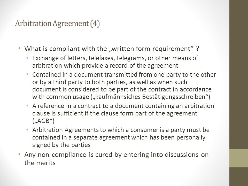 Arbitration Agreement (4)