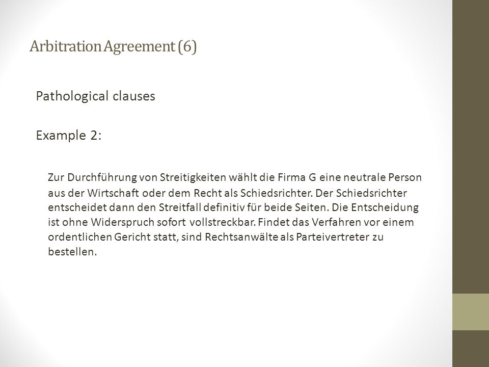 Arbitration Agreement (6)