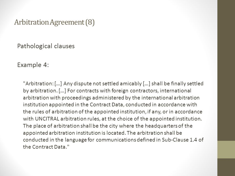 Arbitration Agreement (8)