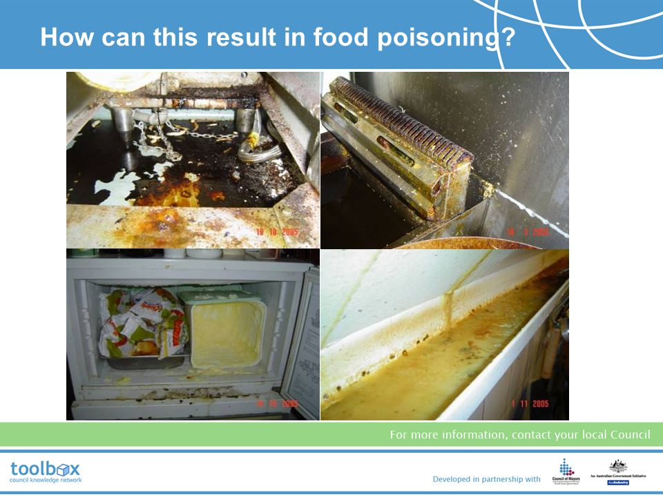 How can this result in food poisoning