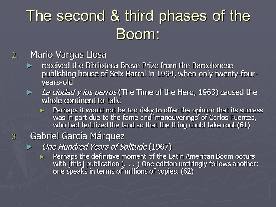The second & third phases of the Boom: