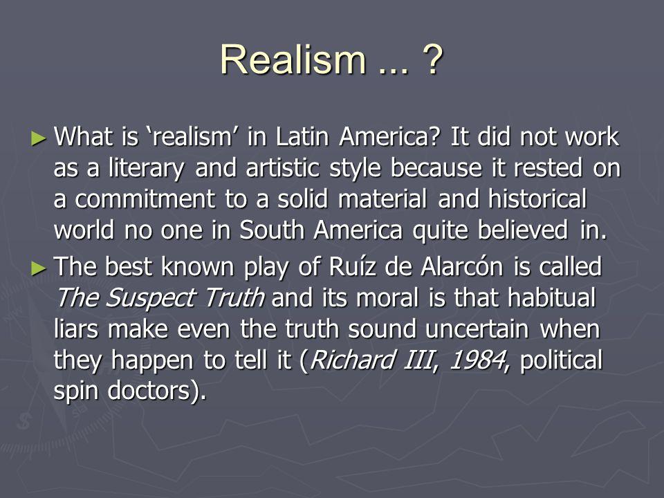 Realism ...