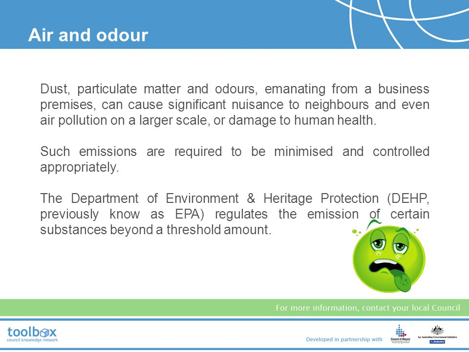 Air and odour