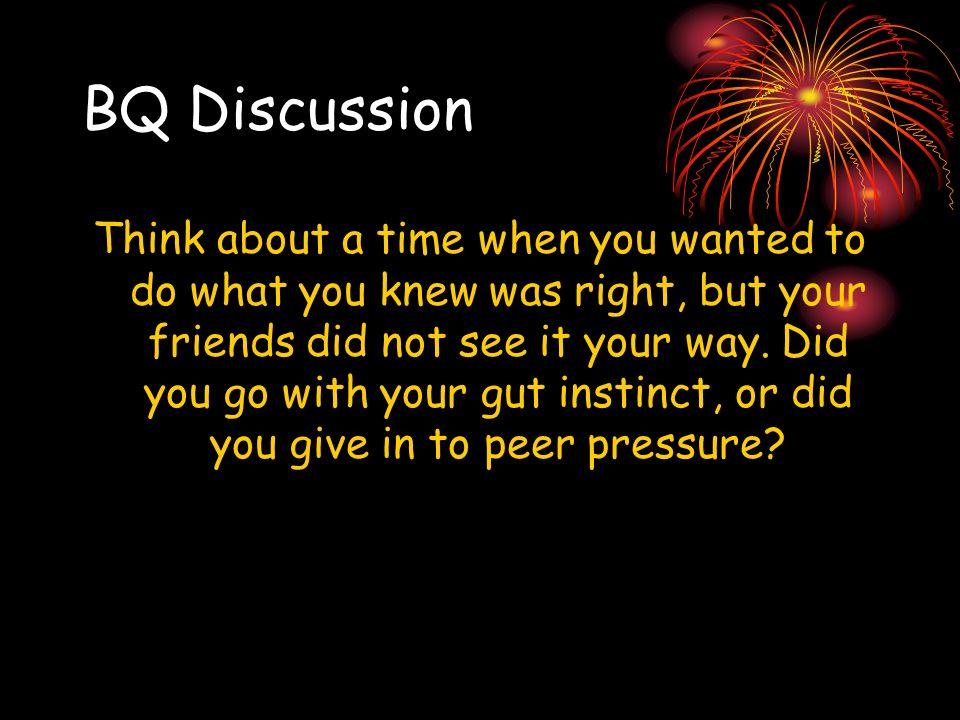 BQ Discussion