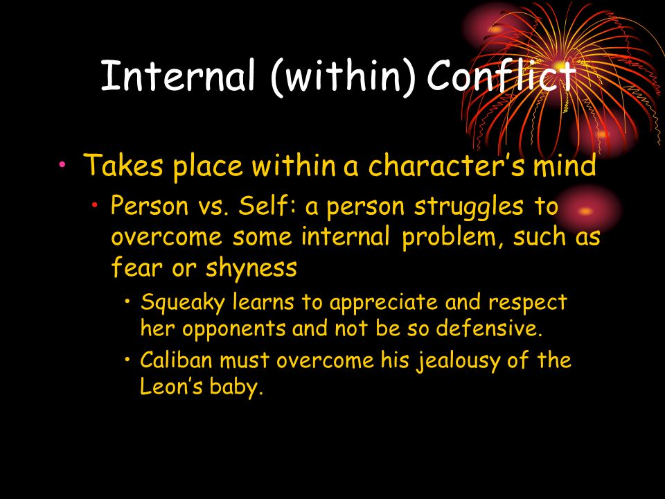 Internal (within) Conflict