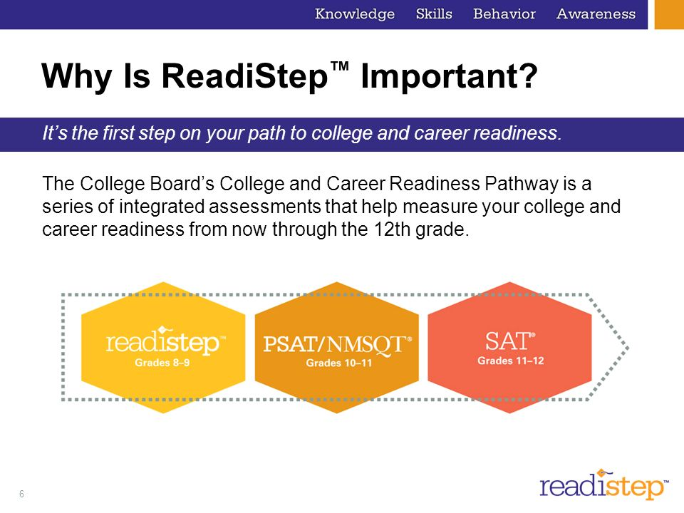 Why Is ReadiStep™ Important