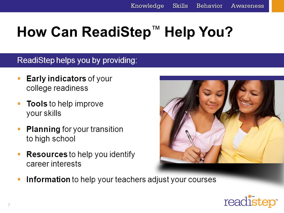 How Can ReadiStep™ Help You
