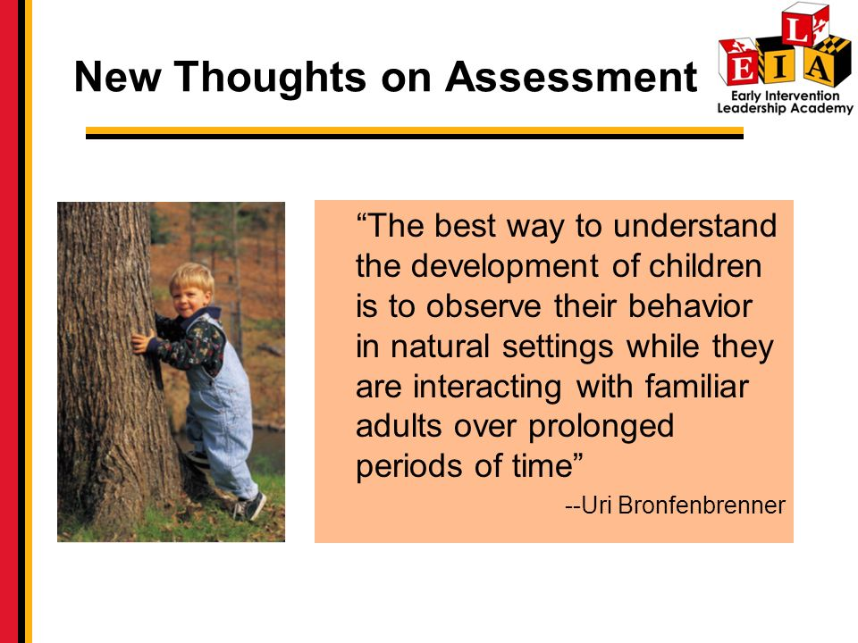 New Thoughts on Assessment