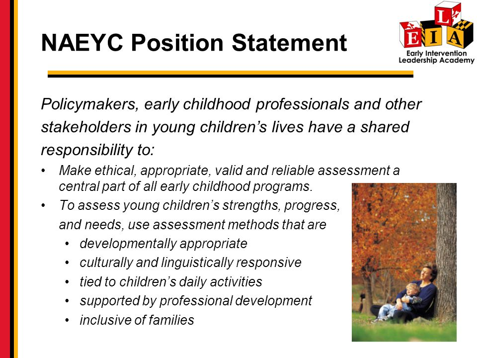 NAEYC Position Statement