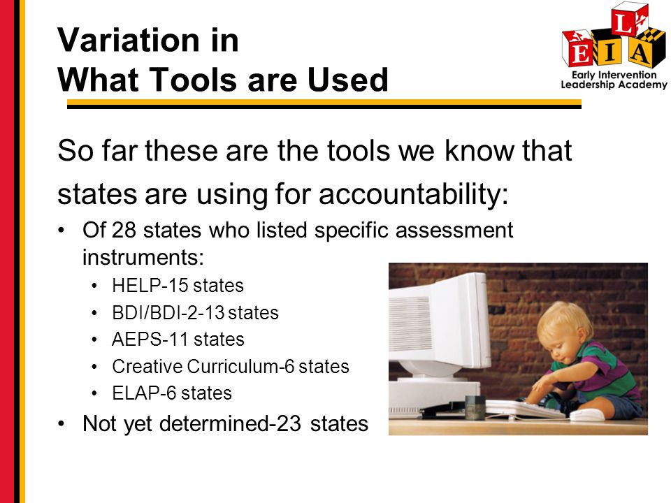 Variation in What Tools are Used