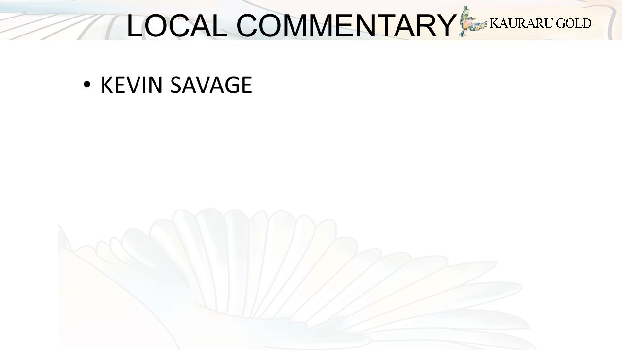 LOCAL COMMENTARY KEVIN SAVAGE