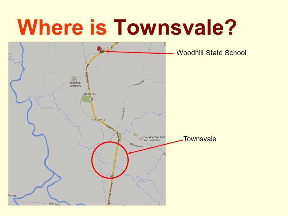 Where is Townsvale Woodhill State School Townsvale