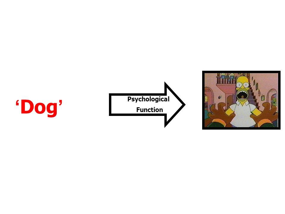 Psychological Function 'Dog'