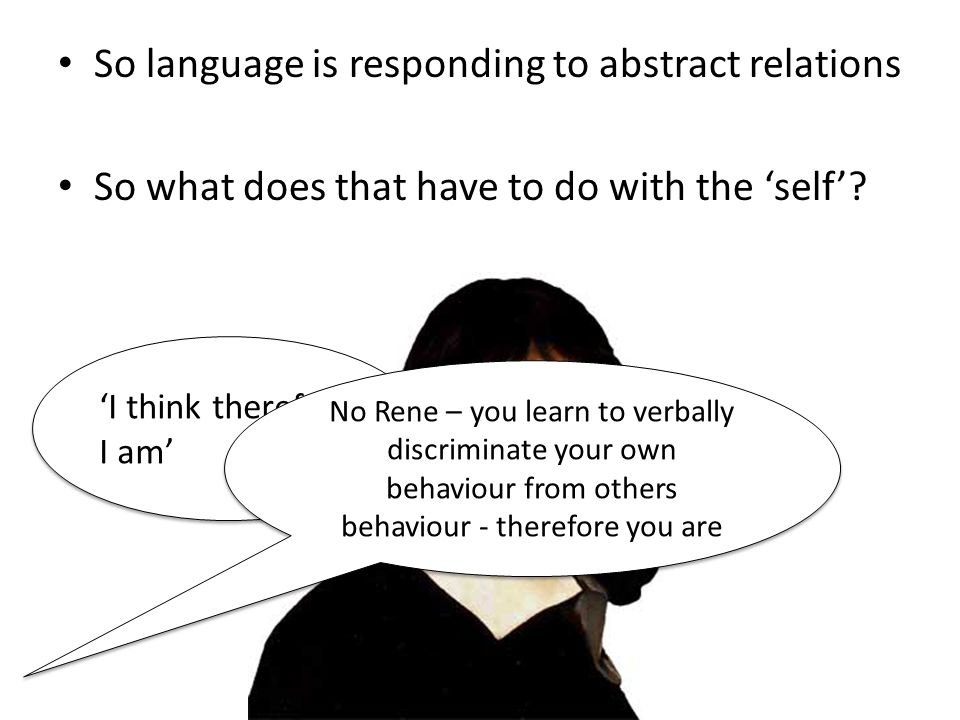 So language is responding to abstract relations