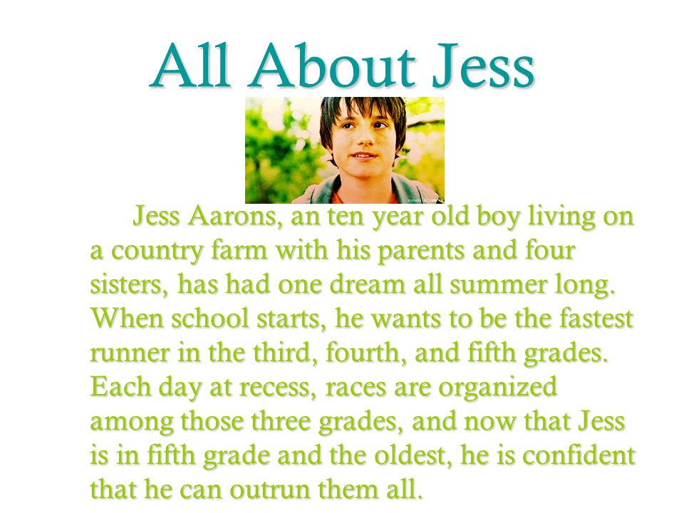 All About Jess