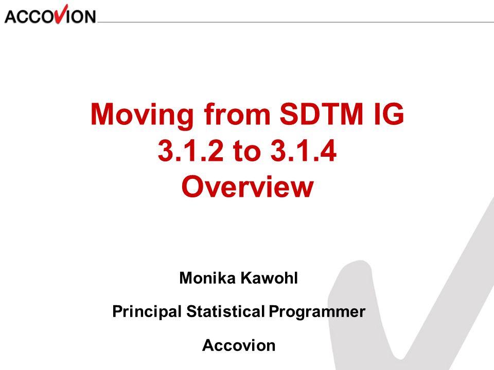 Monika Kawohl Principal Statistical Programmer Accovion