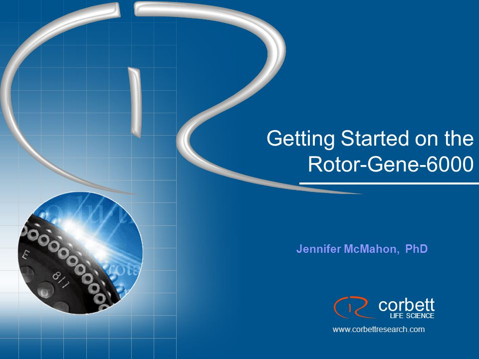 Getting Started on the Rotor-Gene-6000