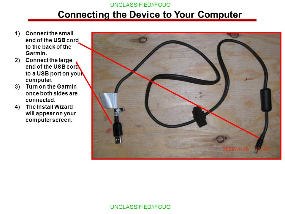 Connecting the Device to Your Computer