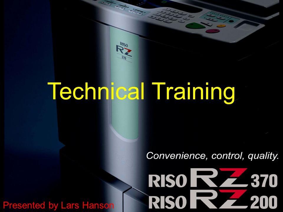 Technical Training Presented by Lars Hanson